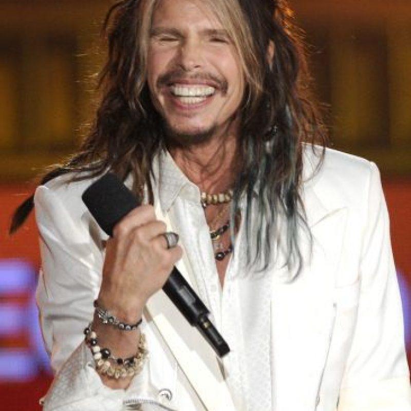 El cantante de Aerosmith le mandó un divertido mensaje a Lenny Kravitz. Foto:Getty Images