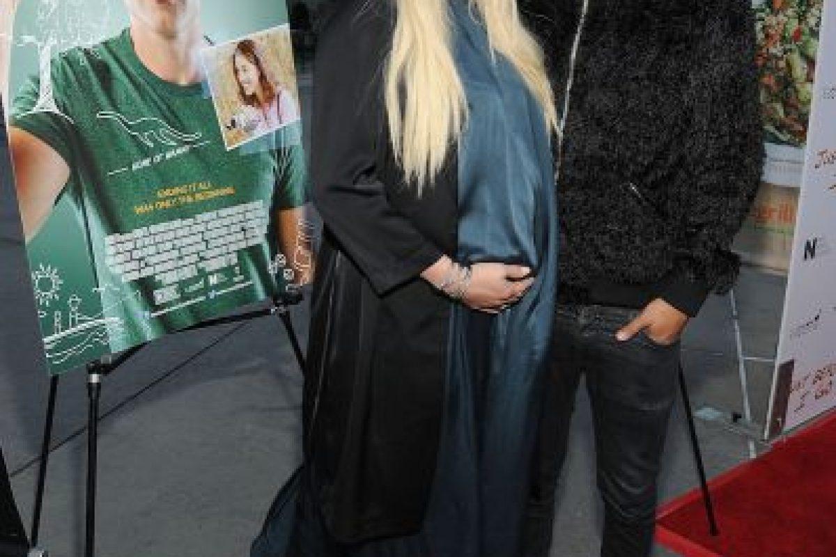 Evan Ross, esposo de la cantante e hijo de la famosa cantante Diana Ross, está muy contento con la llegada de su primera hija con Ashlee Simpson. Foto:Getty Images