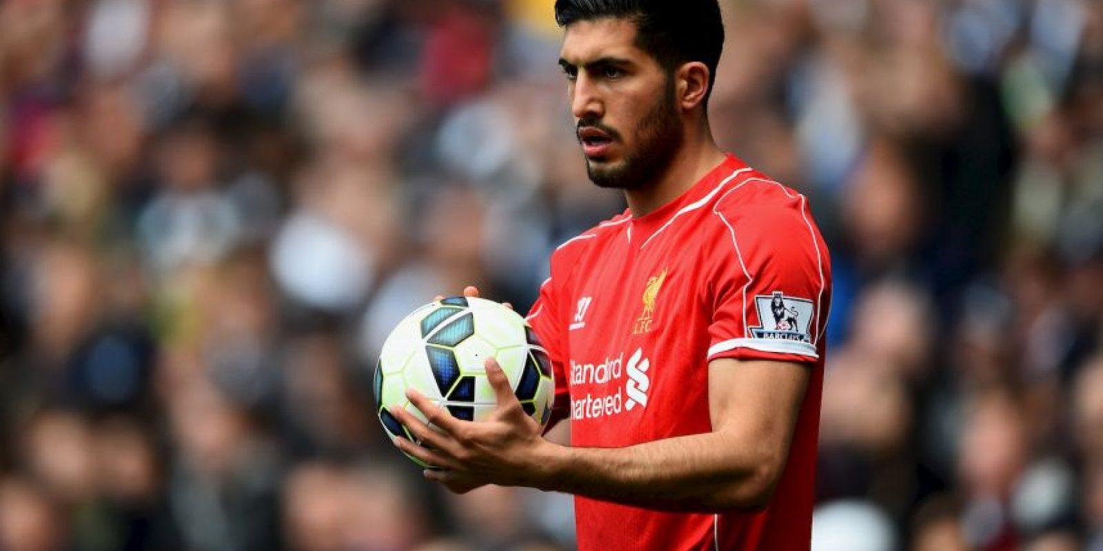 15. Emre Can / Liverpool / Alemania / 21 años / Mediocampista defensivo Foto:Getty Images