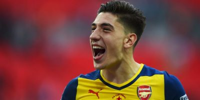 20. Héctor Bellerín / Arsenal / España / 20 años / Lateral derecho Foto:Getty Images