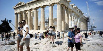 Acrópolis de Atenas. Foto:Getty Images
