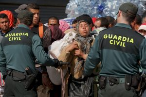 La Guardia Civil española detuvo al dueño del auto y continúan haciendo una investigación. Foto:Getty Images