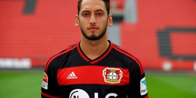 6. Hakan Calhanoglu / Bayer Leverkusen / Turquía / 21 años / Mediocampista ofensivo Foto:Getty Images