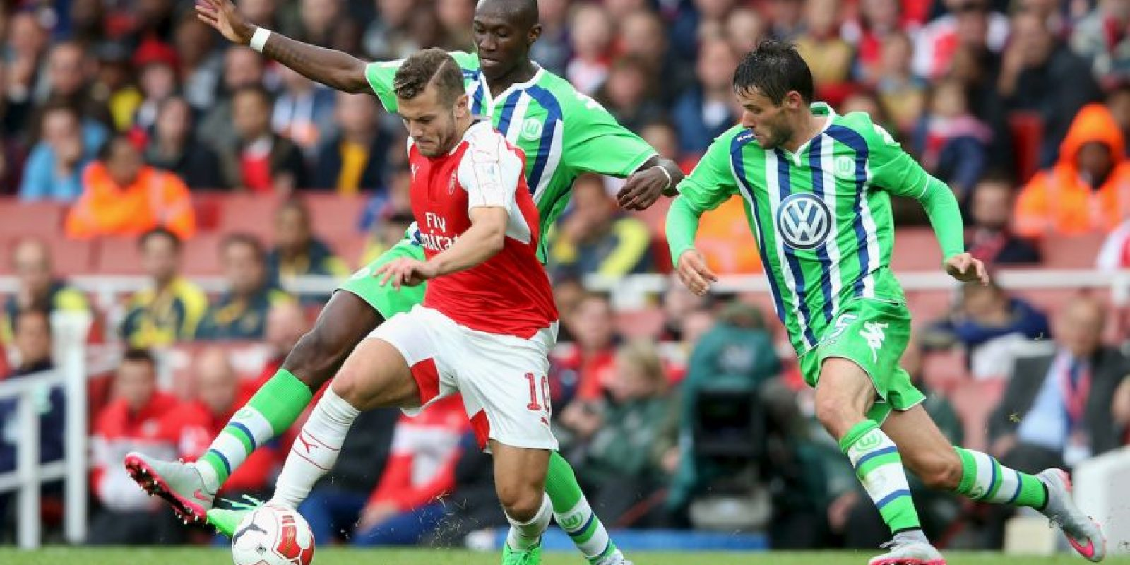 Wilshere es una de las principales promesas del fútbol inglés Foto:Getty Images