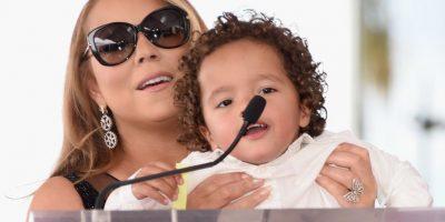 y su hijo Moroccan, quien demostró estar muy apegado a su madre Foto:Getty Images