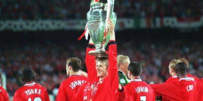 Nació en las reservas del Manchester United y su debut oficial con este equipo fue en 1995. Foto:Getty Images