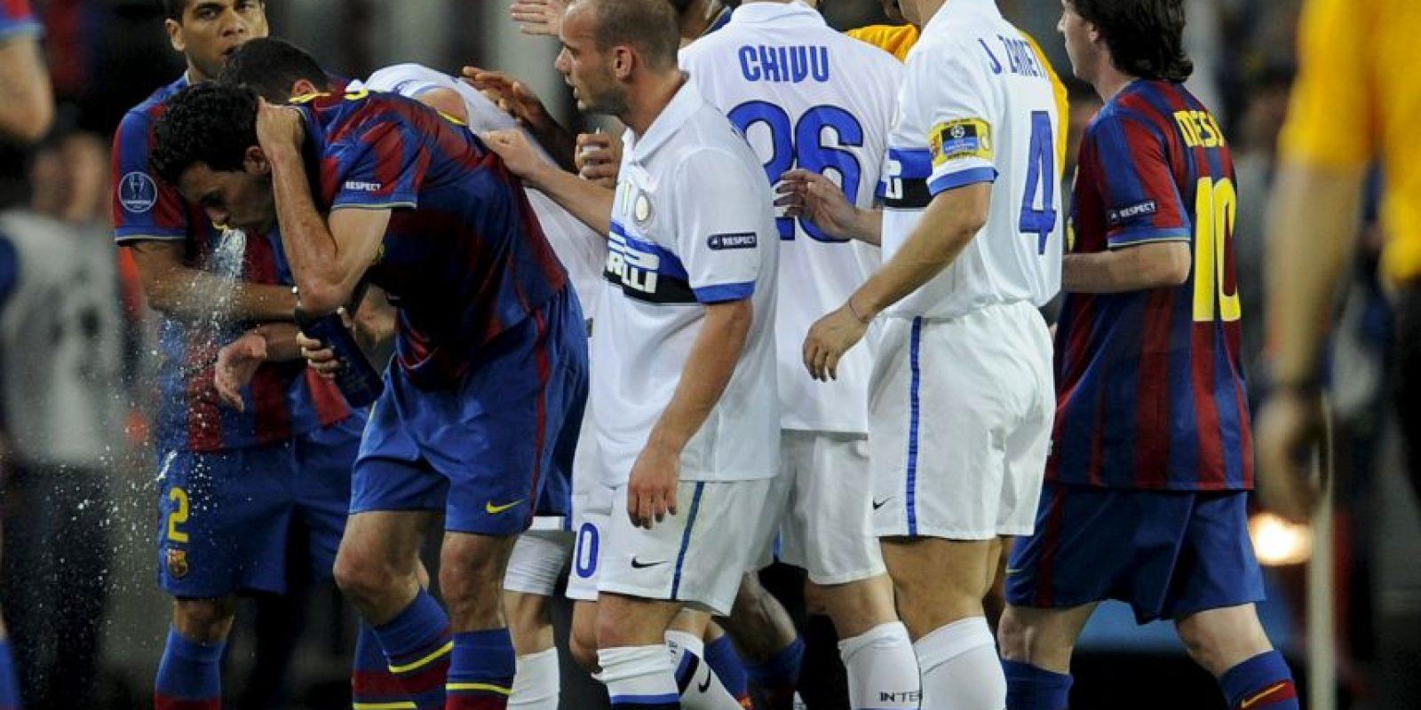 4. Sergio Busquets en Barcelona. Foto:Getty Images