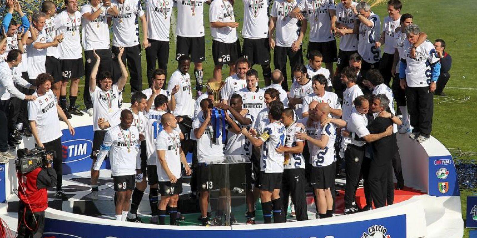 """El histórico """"Inter"""" tiene 107 años de historia en el fútbol de Italia y posee 18 títulos de Liga y 8 títulos de la UEFA. Foto:Getty Images"""