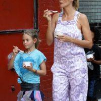 Heidi Klum y Leni Foto:Agencias
