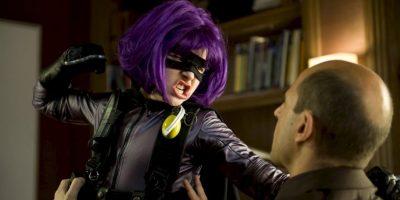 """La niña superhéroe que ha pateado más traseros que nunca en las dos partes de """"Kick- Ass"""". Foto:vía Universal Studios"""
