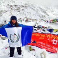 Luego de no haber podido alcanzar la cima más alta del mundo, Padilla se plantea lograrlo el próximo año. Foto:Publinews