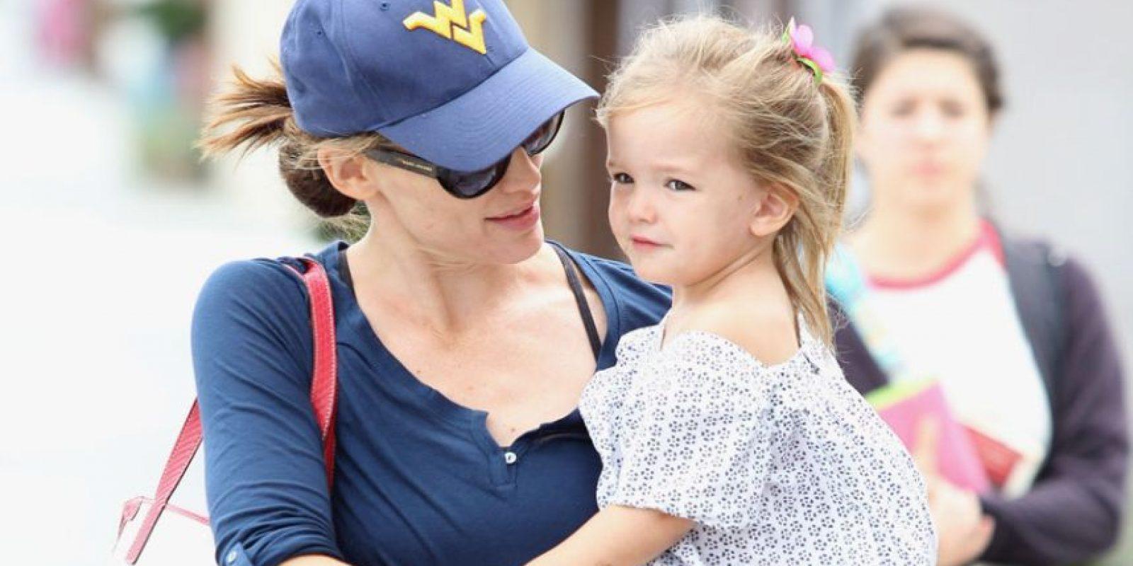 Jennifer Garner y Seraphina Affleck Foto:Agencias