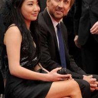 Nicolas Cage y Alice Kim
