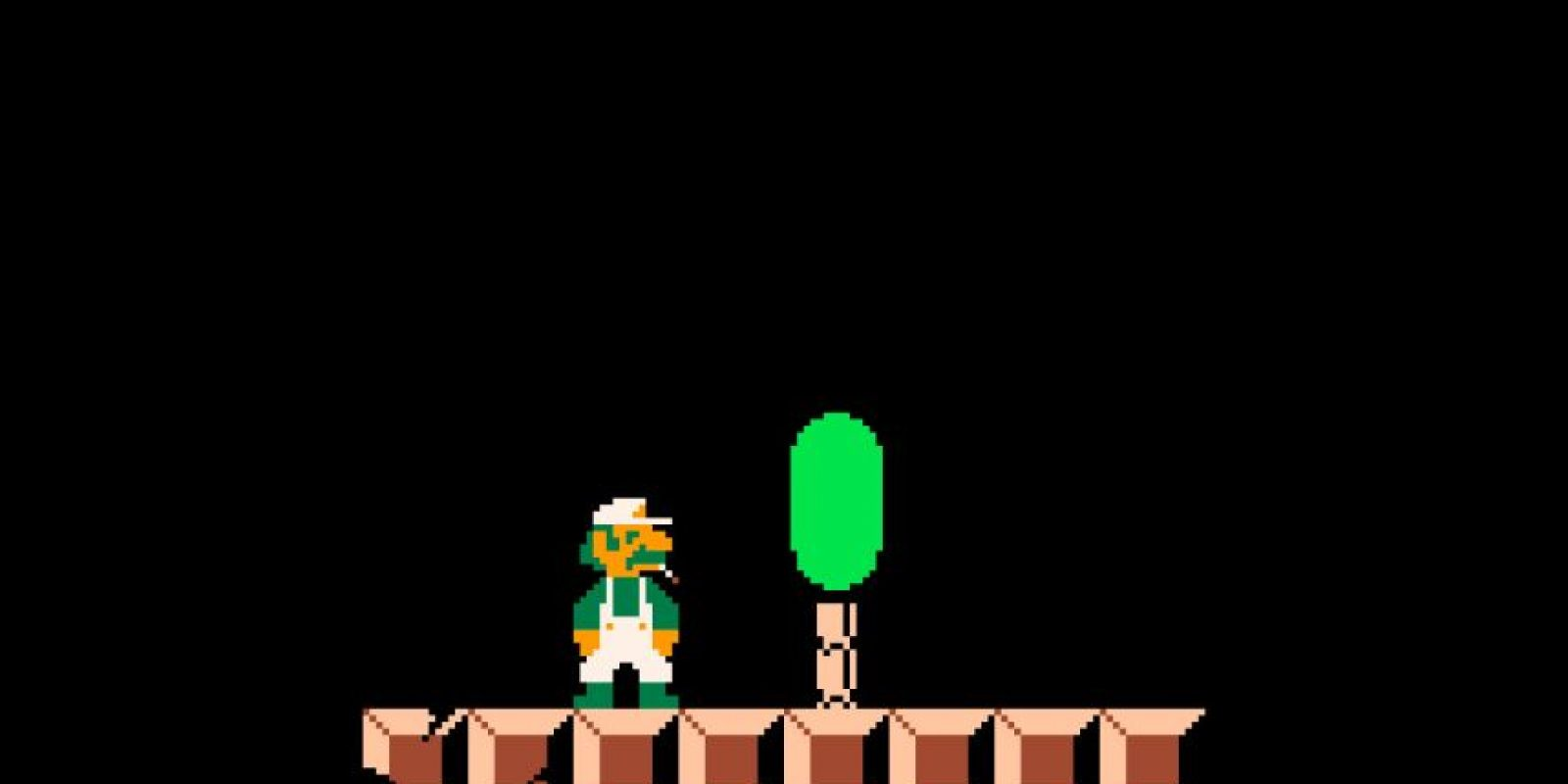 En este juego, Luigi solo camina Foto:joshmillard