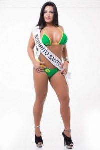 Flavia Assis de Espirito Santo. Foto:missbumbum2015.com.br