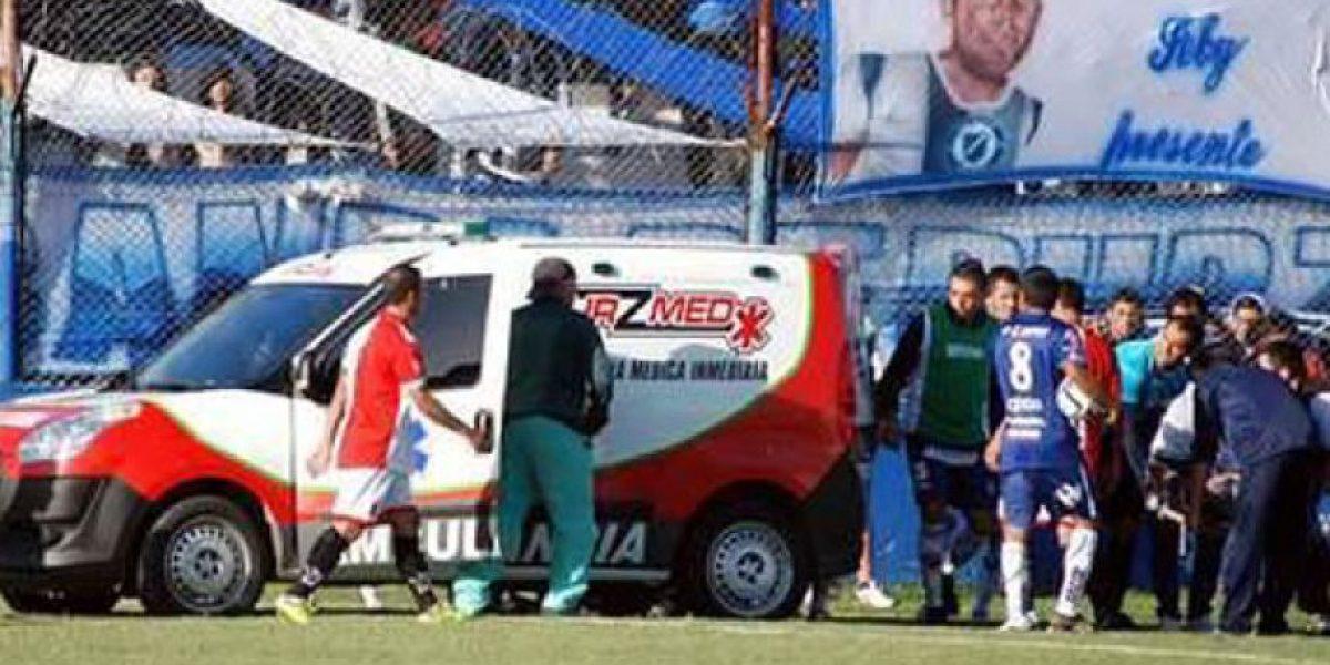 VIDEO. Futbolista muere después de 11 días de agonía