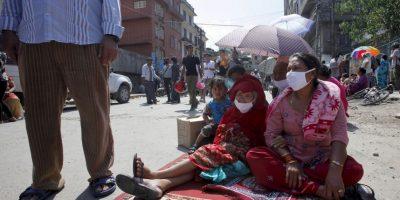 3. En Nepal, aproximadamente 5 millones de personas están desnutridas. El 41% de los niños menores de cinco años sufren de retraso del crecimiento – demasiado bajos para su edad – y el 29% tiene bajo peso. Foto:AP