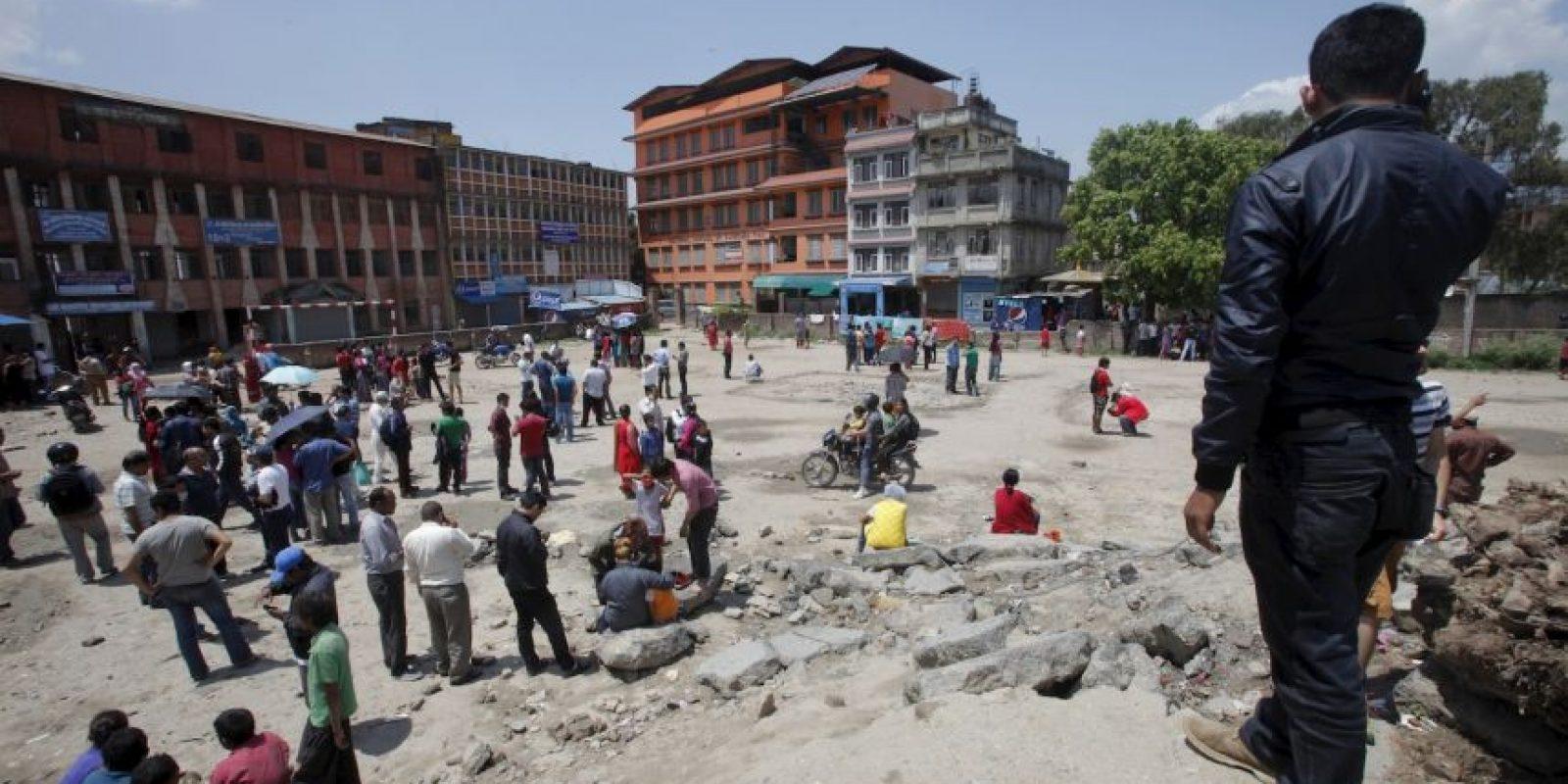 2. Nepal es vulnerable a los altos precios de los alimentos, especialmente en las zonas montañosas remotas, lo que desencadena el hambre. Los precios promedio de los alimentos en las regiones de montañas y colinas son 100% más altos que en otros lugares. Foto:AP
