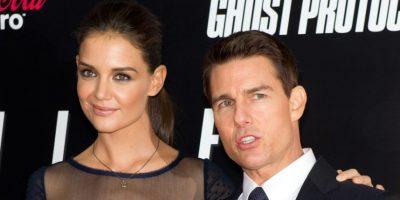 Tom Cruise y Katie Holmes Foto:Agencias