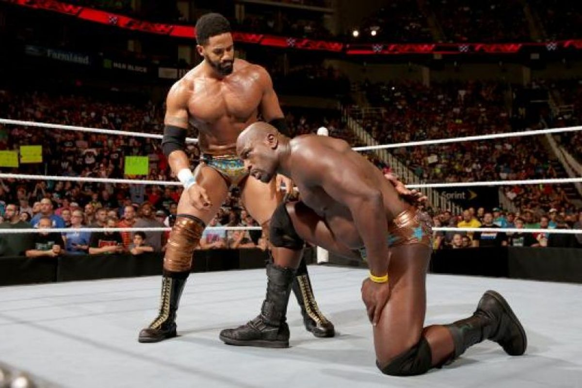 Su pareja es Darren Young Foto:WWE