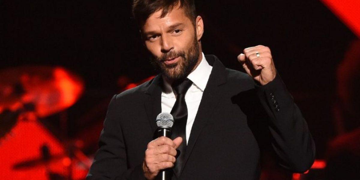 Ricky Martin agradece apoyo ante enfermedad de su padre