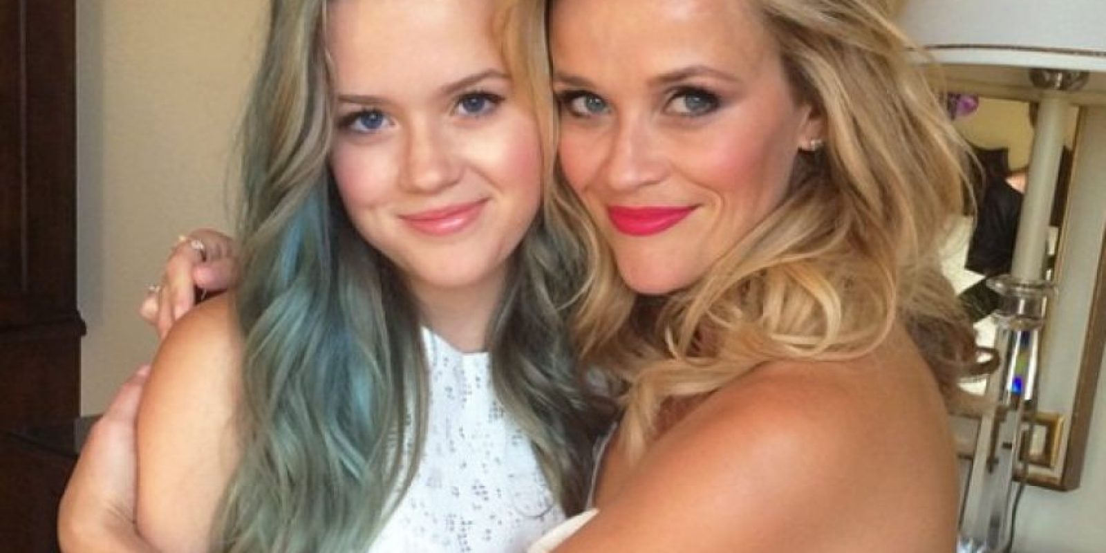 Resse Whiterspon y Ava Phillippe Foto: Agencias