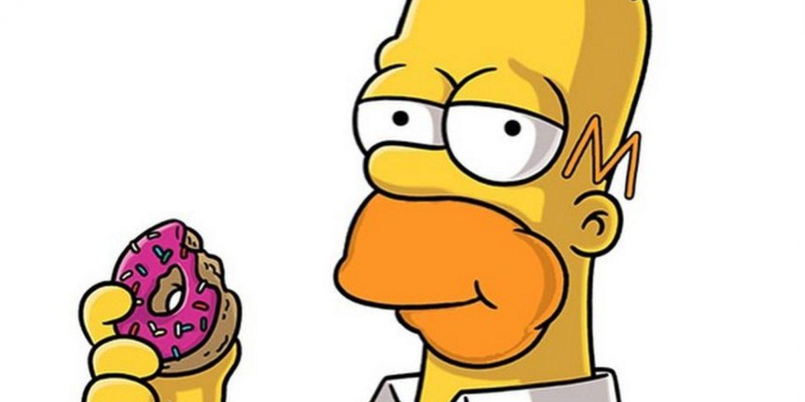 Homero Simpson Foto:Vía instagram.com/putarangonit/