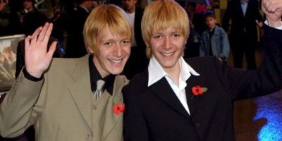 Oliver Phelps y James Phelps Foto: Foto:Getty Images
