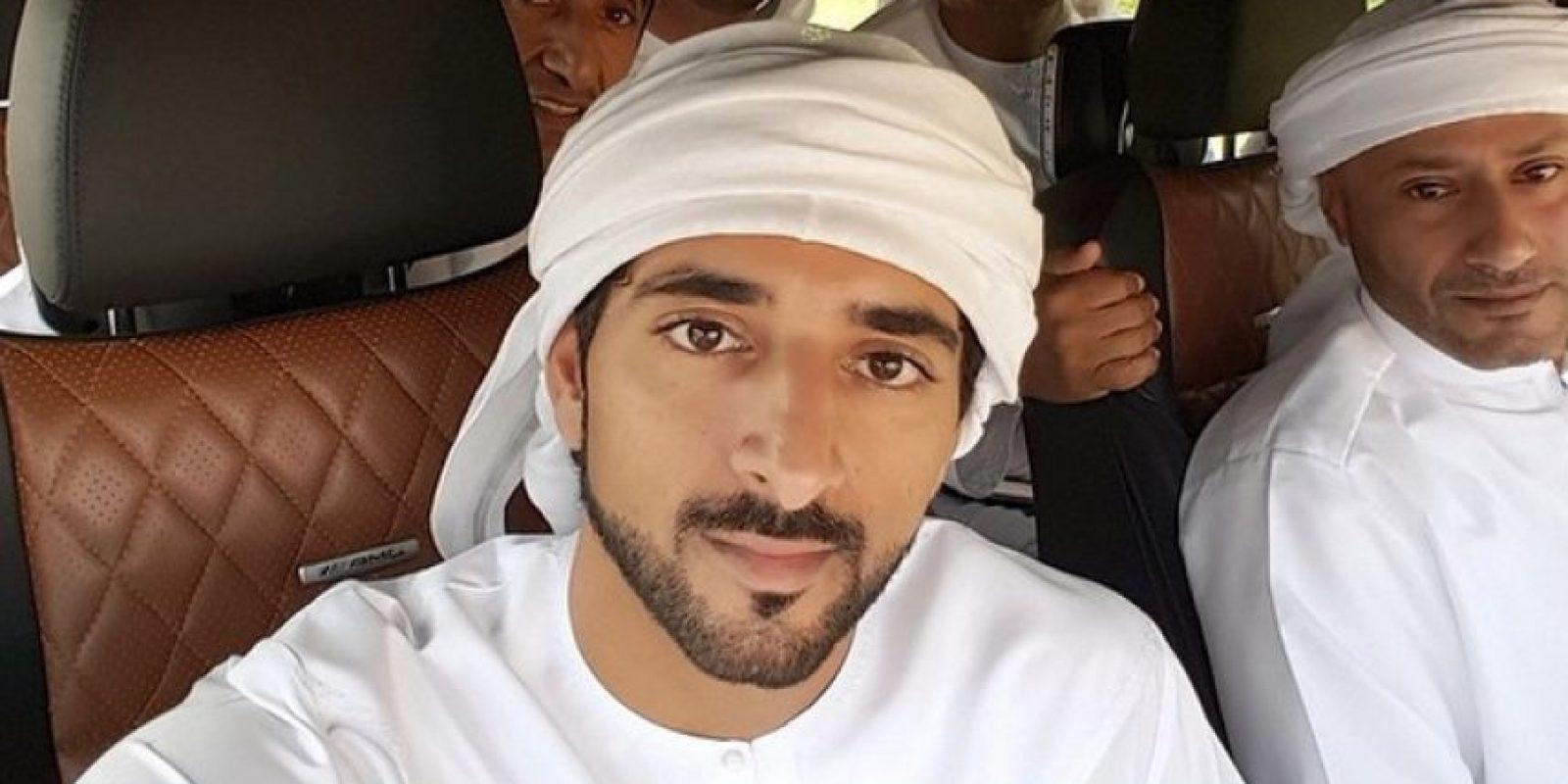 El príncipe heredero de la Casa Al-Falasi, tiene tres mil millones de dólares Foto:Vía instagram.com/faz3/