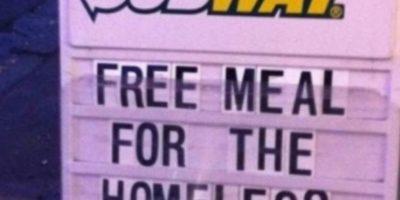 Este restaurante comparte su comida. Foto:vía Tumblr