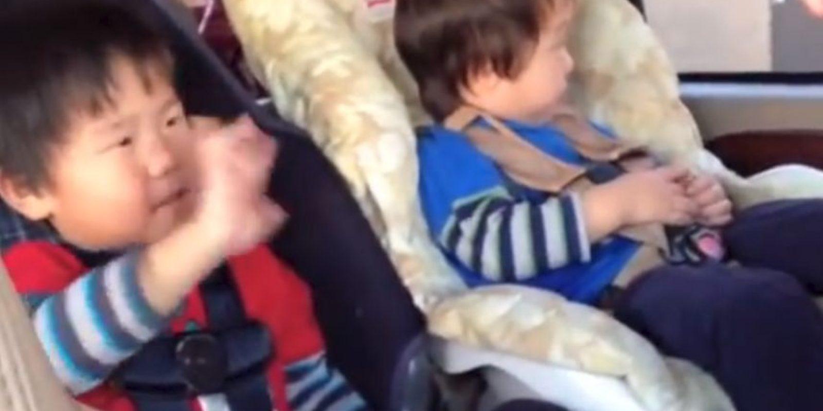 Este par de bebés se hicieron famosos en 2012. Son sordos y sus padres les enseñaron el lenguaje de señas para que hablaran con ellos y entre ellos. Y verlos expresando emociones es bastante conmovedor.