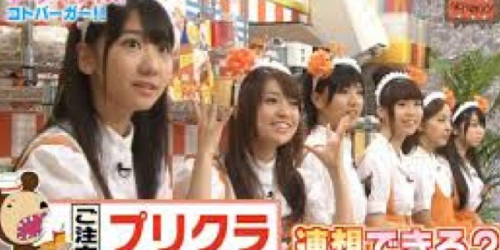 Si de concursos japoneses se trata, nunca se acaban las sorpresas. Foto:vía Tv Nippon