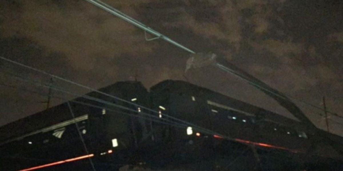 Choque de tren en Filadelfia deja 50 heridos