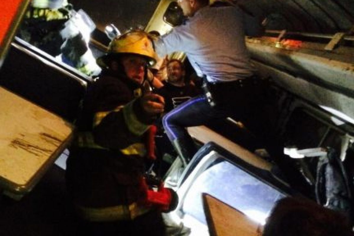 Hasta ahora se reportan 50 heridos, según NBC Filadelfia. Foto:vía Twitter