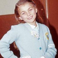 Desde pequeña tuvo su cabello rubio Foto:Televisa