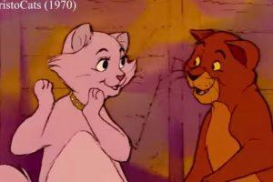 Podemos ver escenas iguales en algunas de sus cintas Foto:Disney