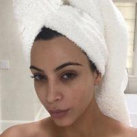 Kim Kardashian, al natural. Foto:vía Instagram/Kim Kardashian