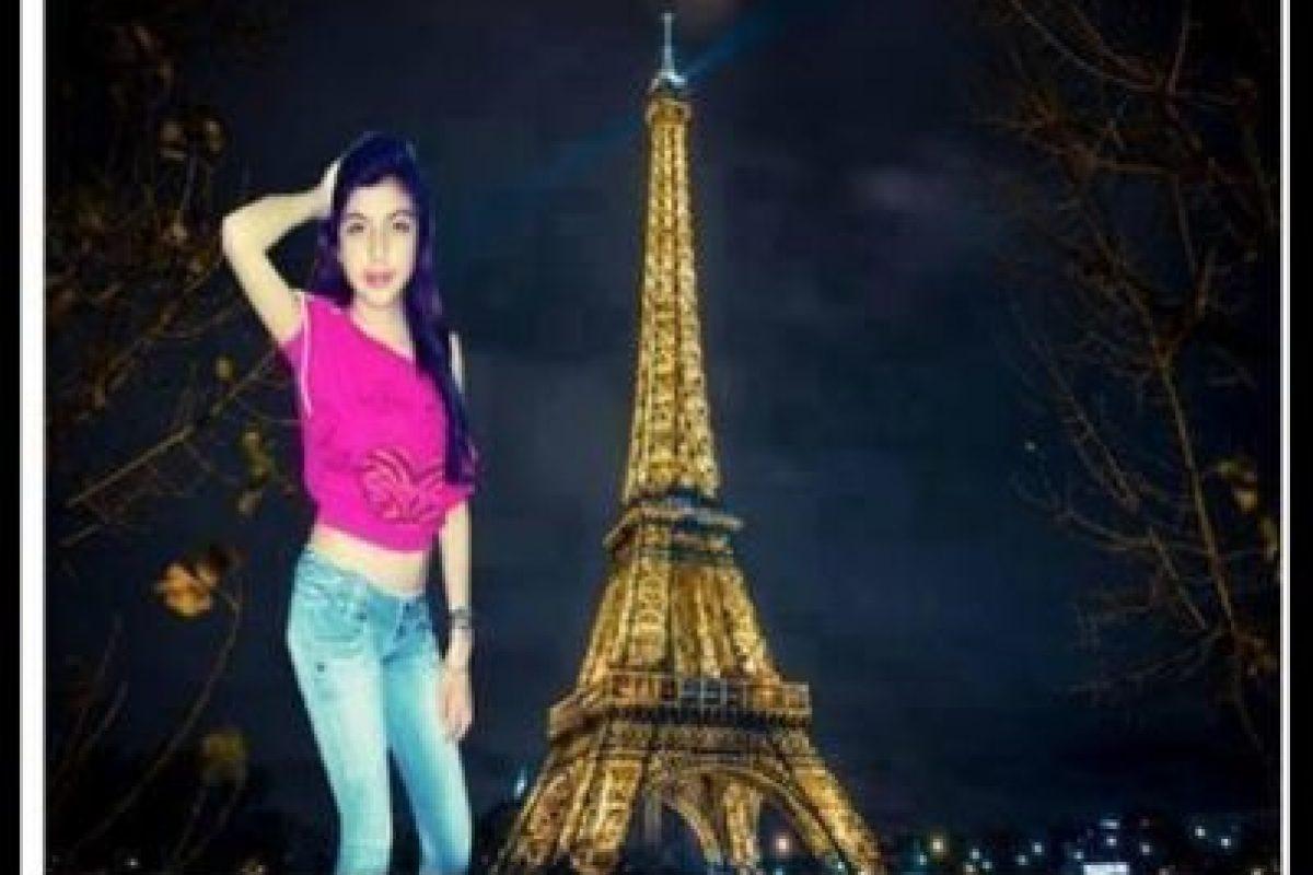 Eiffel ¿en Italia? Foto:Vía Facebook