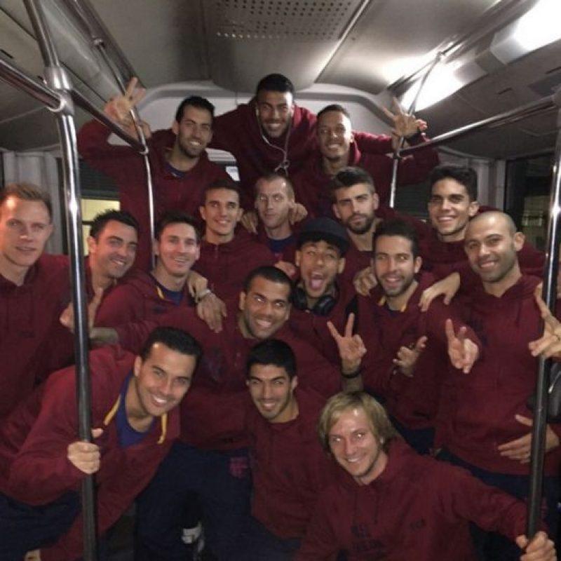 El equipo culé jugará el 30 de mayo la final de la Copa del Rey contra el Athletic de Bilbao. Foto:Vía instagram.com/leomessi