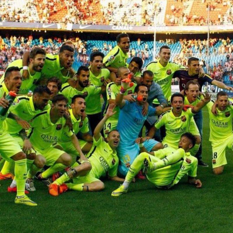 El Barcelona ganó el primero de los tres títulos a los que aspira esta temporada. Foto:Vía instagram.com/neymarjr