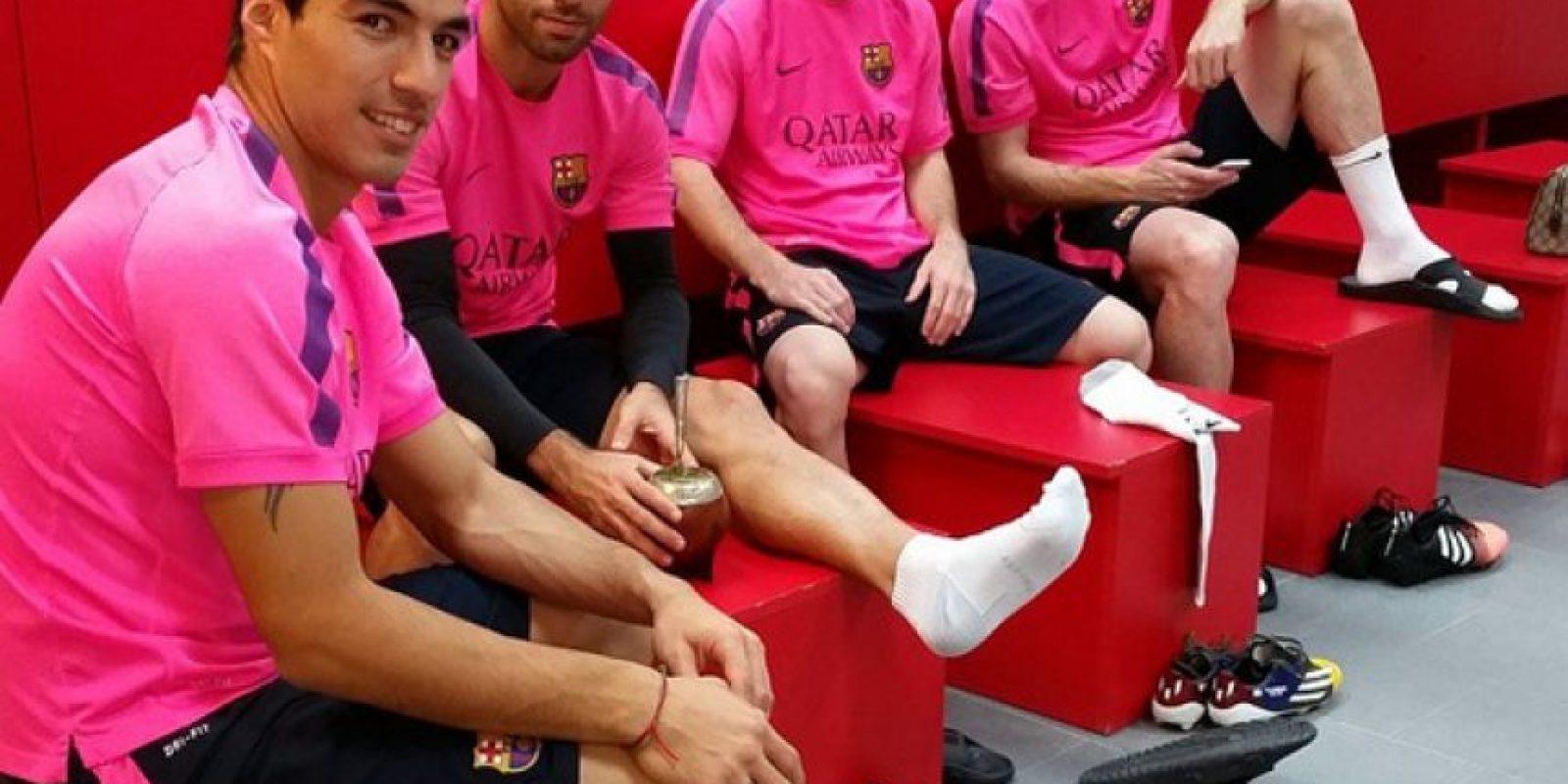 Y ahora, el club catalán apelará a su fútbol y a esta unidad para lograr la triple corona europea. Foto:Vía instagram.com/leomessi
