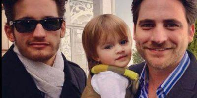Los dos viven con su padre. Foto:vía Facebook/Ricky y Mau