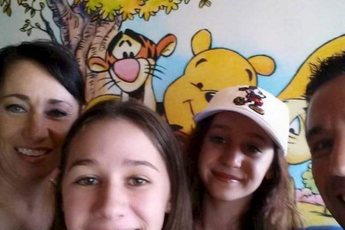 Laura Ruffin junto con su esposo Rico Ruffino tenían a dos hijas. Foto:Vía youcaring.com