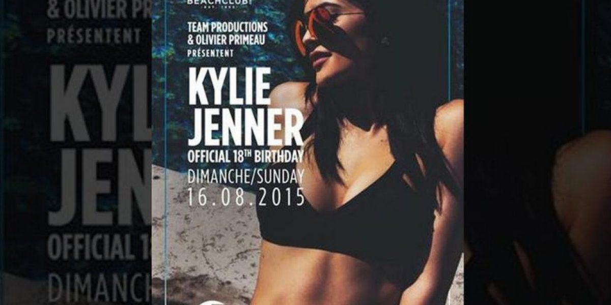 Kylie Jenner prepara un tremendo festejo por sus 18 años