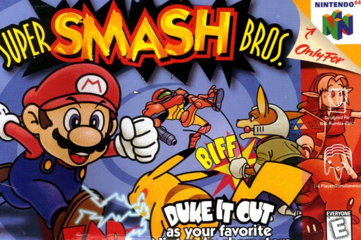 """Super Smash Bros."" para Nintendo 64 Foto:Nintendo"