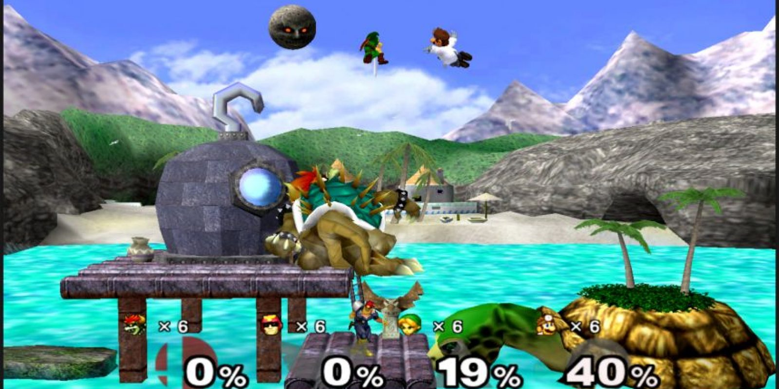 """Super Smash Bros. Melee"" para Game Cube Foto: Nintendo"