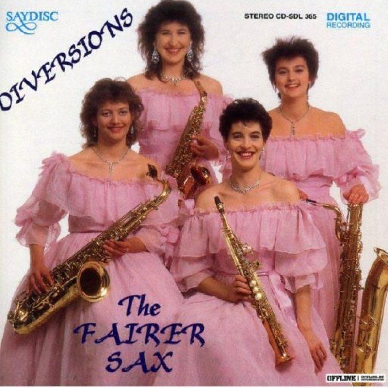 "1. La música de ""The Fairer Sax"" está disponible en iTunes, aunque no lo crean. Foto:Pinterest"