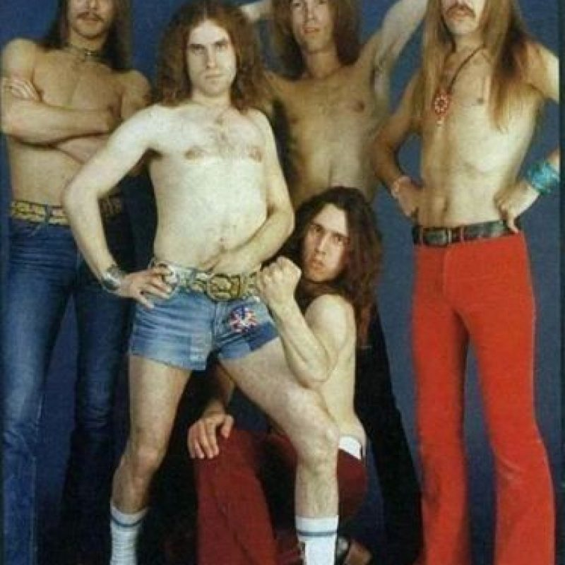 "2. La banda de heavy metal, ""Scorpions"" lucía así. Foto:Tumblr"