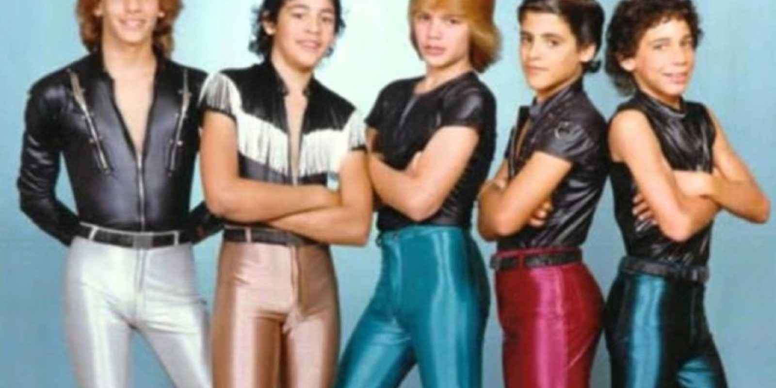 """13. """"Menudo"""". La agrupación puertorriqueña infantil también dejaba mucho qué desear en cuanto a su vestuario. Foto:Know Your Meme"""