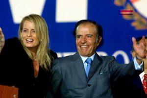 Cecilia Bolocco, estuvo casada con el expresidente argentino Carlos Menem. Foto:Getty Images